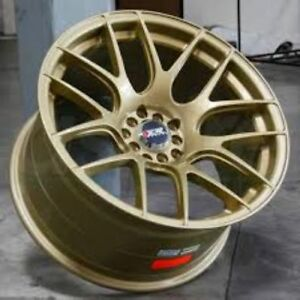 Primax 53087107 Xxr 530 Wheel Rim 18x7 5 Gold 5 100 5 114 3 38mm