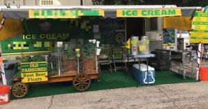 8 X 24 Ice Cream Concession Trailer Business For Sale In Texas