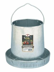 Poultry Birds Feeders Hanging Chicken Feeding Container Holder Kit New