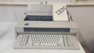 Ibm Wheelwriter 6 Electric Typewriter As Is For Parts