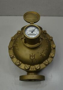 Neptune Trident 11 2 Style 3 Water Meter Only 27 Gallons Use Brass Steampunk