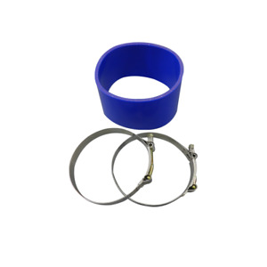 Cxracing 5 Silicone Hose Clamps Blue For Intercooler Turbo Pipe Air Filter