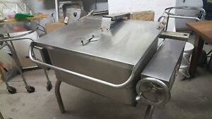 Groen Hfp 2 3 Natural Gas Tilt Braising Skillet Pan 30 Gallons