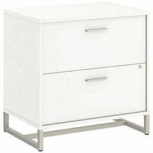 Bbf Method By Kathy Ireland Lateral File Cabinet Assembled In White