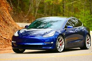 Signature Forged Wheels Sv104 19 Inch Monoblock Tesla Model 3 Performance P3d