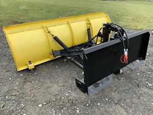 6 5 Quick Attach And 3 Point Hitch Snow Plow Great For Compact Tractor