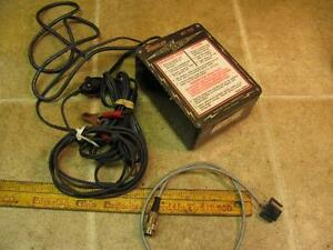 Vintage Snap On Mt120 Emergency Ignition System Model A