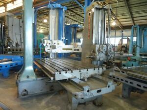 5 Giddings Lewis Horizontal Boring Mill 350t G l Hbm 1952 Tailstock