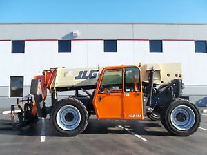 2011 Jlg G12 55a Telehandler Telescopic Forklift 12000lb Lift 55ft Reach G10 55