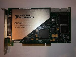 National Instruments Pci 6052e Ni Daq Card Analog Input Fully Functional