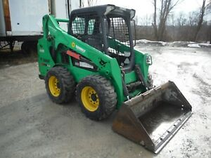 2013 Bobcat S530 Compact Skid Steer Loader W 49 Hp Kubota Diesel Engine