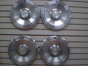 1973 Chevrolet Impala Wheelcover Wheel Covers Hubcaps Oem Set 73