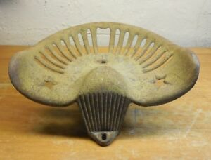 Antique Warrior Mower Tractor Seat