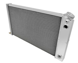 1971 1979 Chevy Caprice Dual Pass Radiator Champion Aluminum 3 Row For Ls Motor