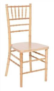 Wooden Chiavari Chairs In Natural Finish Set Of 4 id 3115769