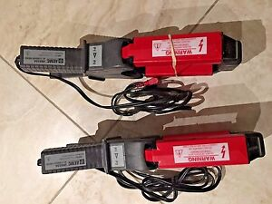 Two Probes Of Aemc Jm810a Ac Current Probe lead 1ma a 2000a Max 2110 80