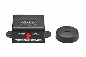 Wolo Rc 100 Wireless Wizard Universal Wireless Car Horn Remote Control System
