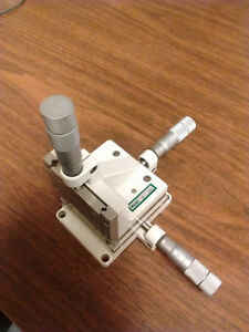Line Tool Model A rh 3 axis Precision Opto mechanical Linear Stage Xyz