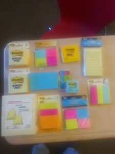Lot Of Various Size And Type Of Post it And Sticky Notes