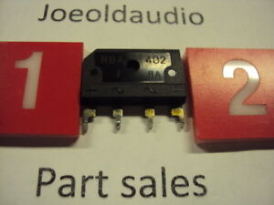 Diode Bridge Rbv 402 Pulled Part Tested With Curve Tracer