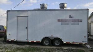 8 5 X 22 Mobile Kitchen Food Concession Trailer For Sale In Illinois