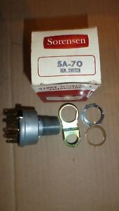 Nors 1964 Pontiac Full Size 6 8 Cylinder Ignition Switch Made In Usa