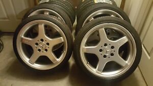 Mercedes Amg Ronal Racing 18 Inch Staggered Wheel Set