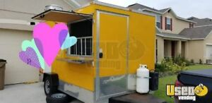 2015 7 X 12 Food Concession Trailer For Sale In Florida