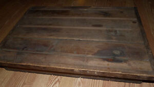 Antique Wood Portable Writing Slope Wooden Writing Desk Box Traveling