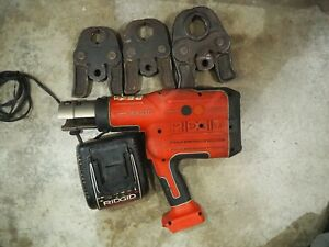 Ridgid Rp330 Propress Hydraulic Battery Operated Crimper 18v