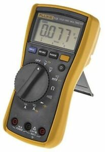 Fluke 115 Handheld Digital Multimeter With Rscal Calibration 10a Ac 600v Ac 10