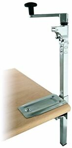 Commercial Manual Can Opener Table Clamp Mount Hand Crank Restaurant Kitchen 19