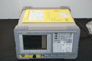 Agilent Hp Keysight E4402b 275 Std Spectrum Analyzer 9 Khz To 3 0 Ghz
