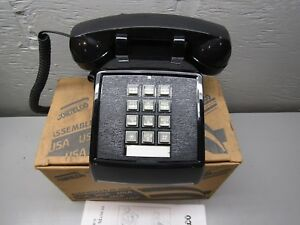 Cortelco 250000 vba 20m Black Desk Phone