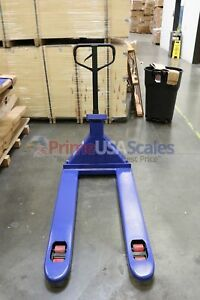 5 Year Warranty Pallet Jack Scale With Built in Printer 5 000 X 1 Lb Capacity