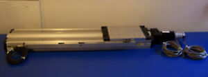 10293 Parker 802 6682a Linear Slide 20 Travel 6 x8 Plate W Accucoder Motor
