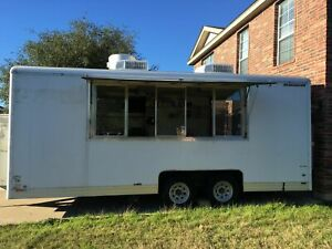 18 Mobile Kitchen Food Concession Trailer For Sale In Texas