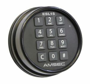 Amsec Esl15 Digital Safe Lock access Control gun Safe safes