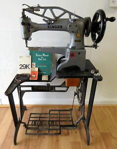 Singer Leather Patcher Sewing Machine Industrial 29k71 W Accessories