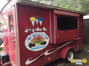 6 X 12 Sno pro Shaved Ice Concession Trailer For Sale In Mississippi