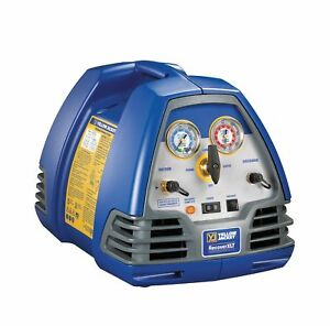 Yellow Jacket Refrigerant Recovery Machine 1 2 Hp 115v 95760