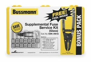 Bussmann Fuse Kit Glass Fuse Kit Kit Type Gsk 260