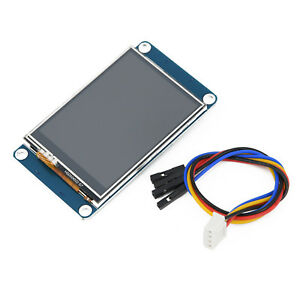 2 4 Nextion Hmi Usart Tft Lcd Touch Display Module Panel Fits For Arduino New