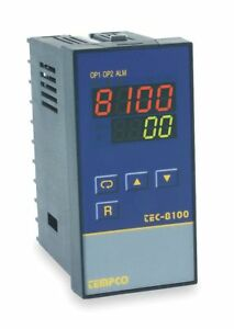 Tempco Temperature Controller 1 8 Din Size 90 To 250vac Input Voltage Switch