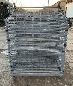 46 Tray Silk Screen Drying Rack 101223