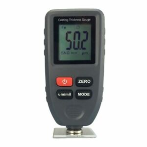 Tc100 Digital Coating Thickness Tester Gauge 0 1300um Paint Mil Metal Meter New