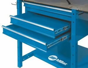 Miller Electric Drawer Module 26 W X 16 D X 10 H Blue 300610