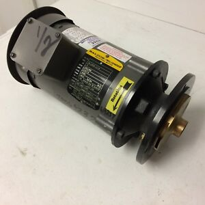Baldor 1 2hp Motor W Impeller 34 2606 2718