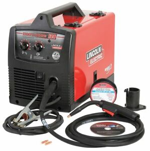 Lincoln Electric Flux Core Welder Easy Core 125 Series Input Voltage 120vac