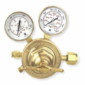 Victor Professional Sr460a 510 Series Gas Regulator 5 To 125 Psi 3 500